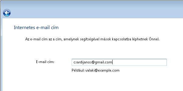 Windows Mail - Email cim