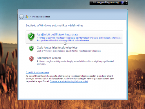 Windows automatikusa védelme