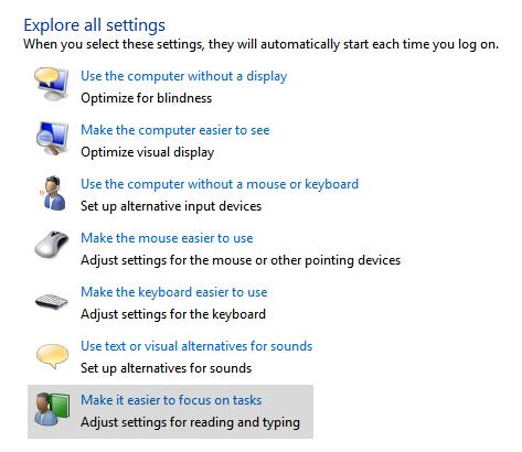 Windows 7: Make it easier to focus on tasks