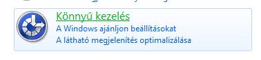 Windows 7 Vezérlőputl: könnyű kezelés