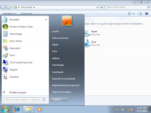 Magyar nyelvű Windows 7