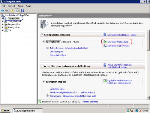 Windows Server 2008 Kiszolgálókezelő