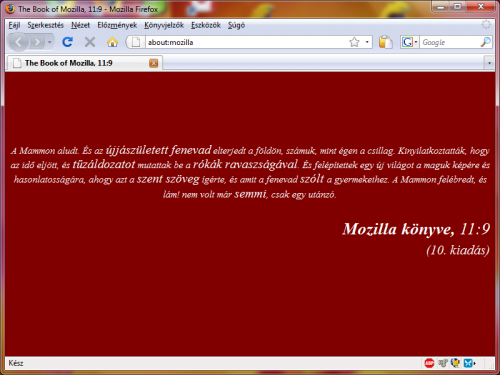Firefox áttetszóség csak a címsorban