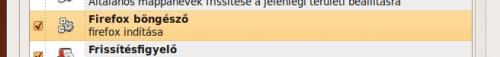 Firefox automatikus indítása