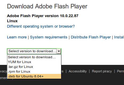 Linux verzió kiválasztása