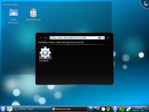 KDE4 Futtatás