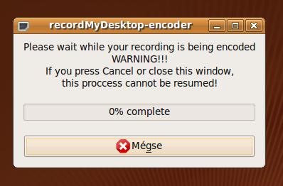 recordMyDesktop-encoder