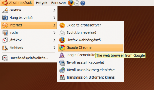 Alkalmazások, Internet