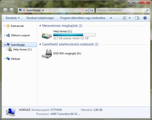 Windows 7 Számítogép Könyvtárak nélkül