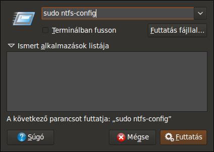 sudo ntfs-config