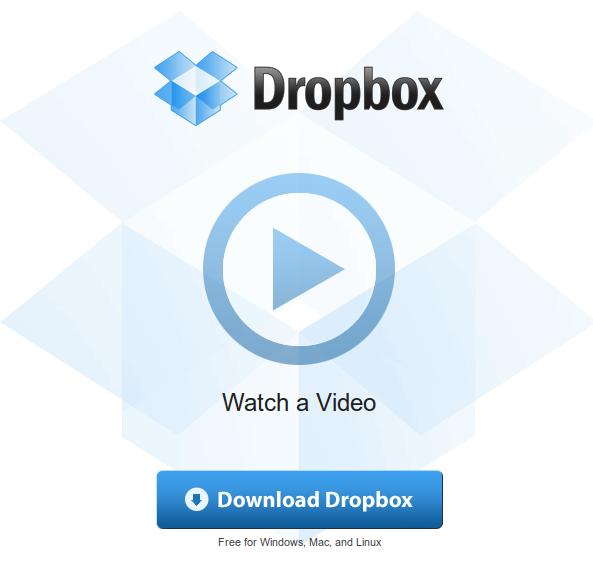 Dropbox nyitólap linux alatt