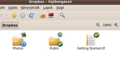 Ez van már a kezdetekkor a Dropbox mappában
