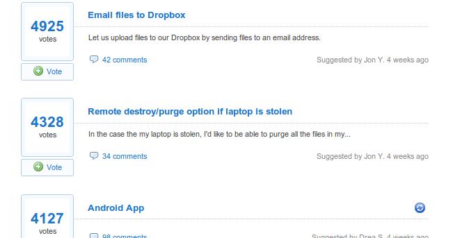 Ötletroham a Dropbox kapcsán