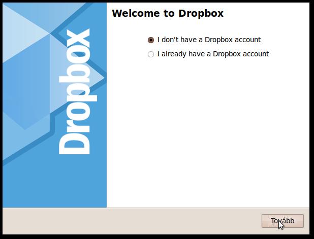 Még nincs Dropboxom