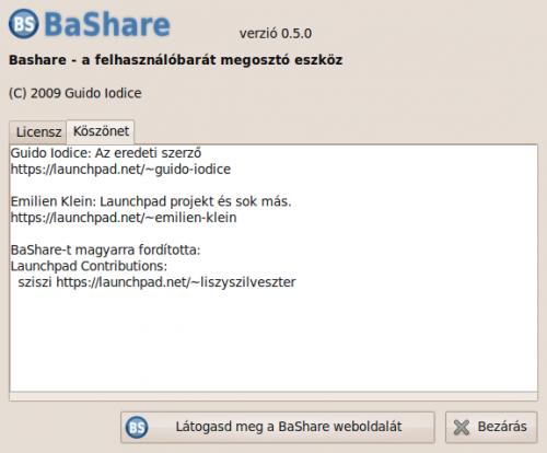 BaShare-ről
