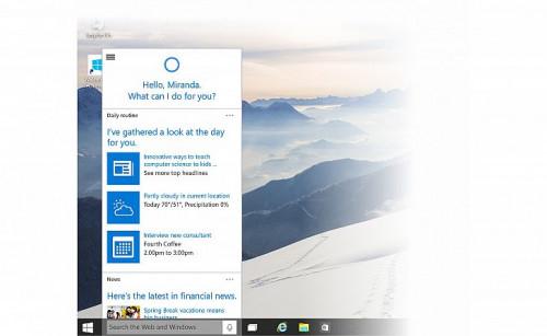 Cortana Windows10