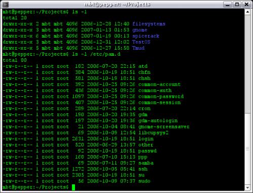 Linux fájlrendszer