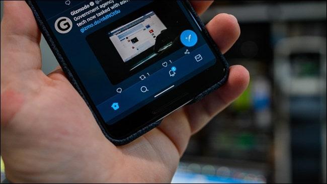 Android 10 navigáció