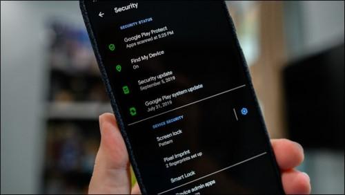 Android 10 beállítások