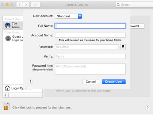 Mac optimalizalas