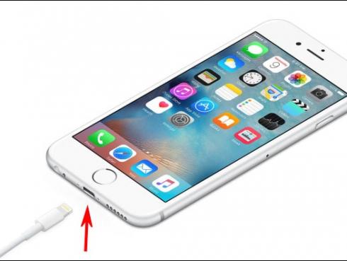 iPhone csatlakozo