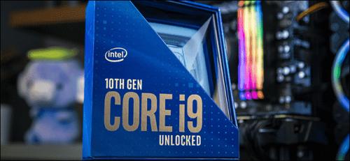 10. generacios Intel processzor
