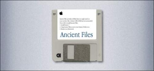 Floppy Drive, modern Mac
