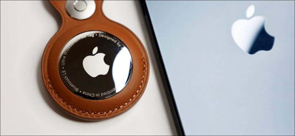 Apple AirTag es telefon